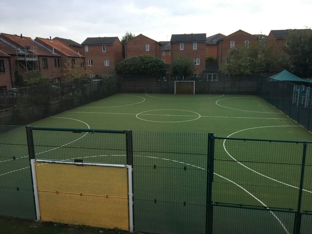 PPG Multi sports pitches