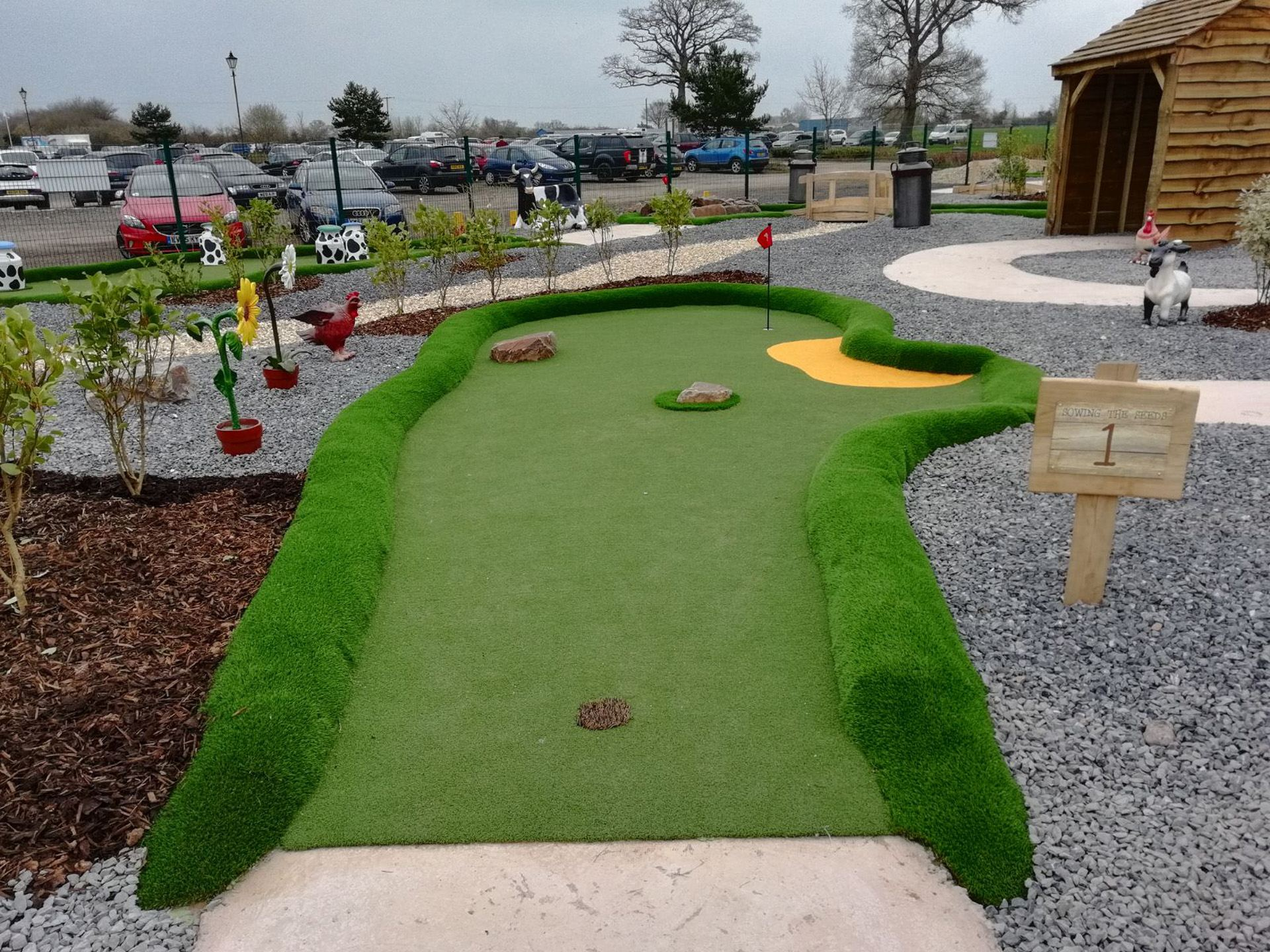 PPG - Adventure Golf with Props