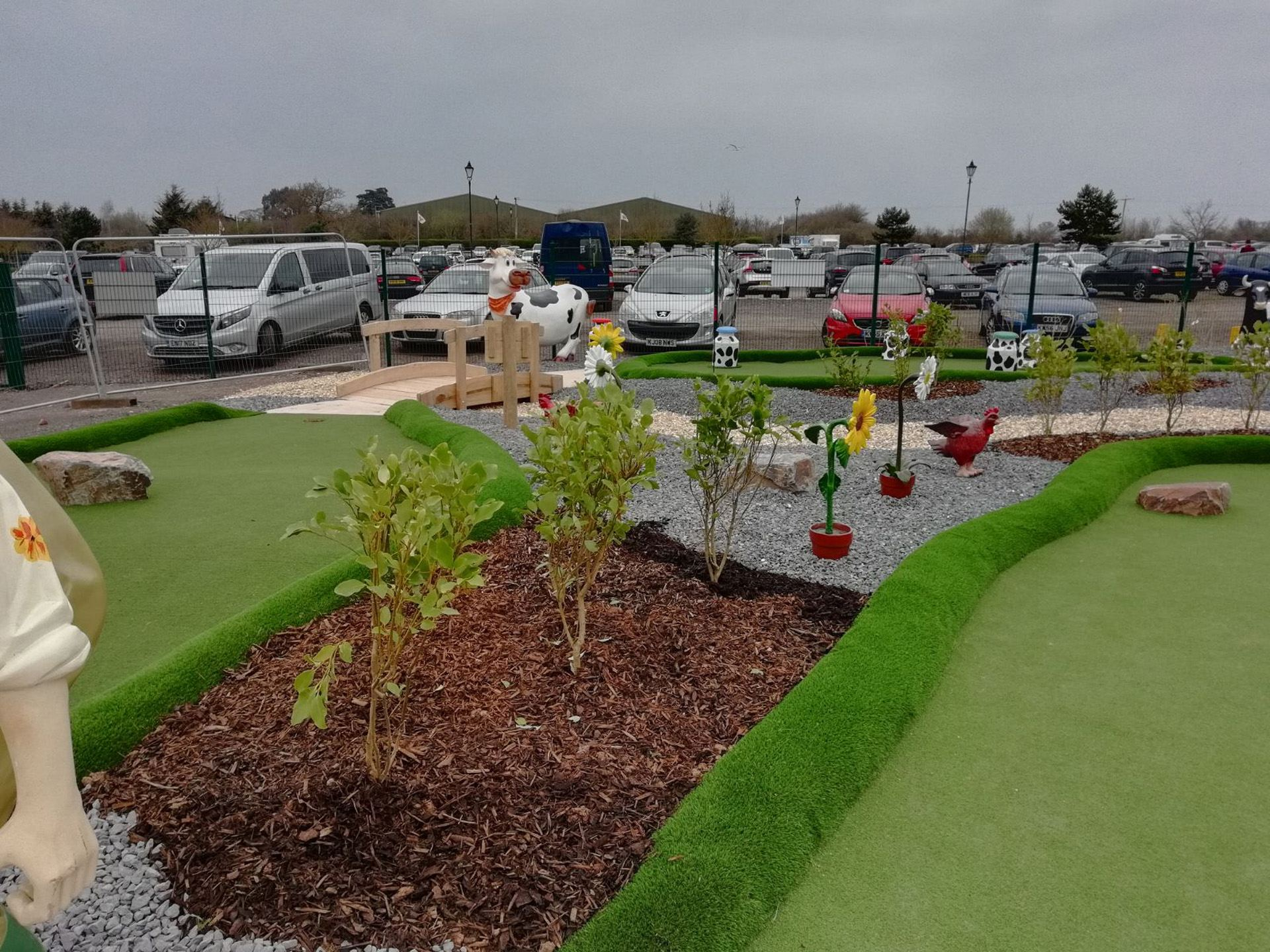 PPG - Adventure Golf with groundworks, artificial grass and props