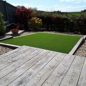 PPG Artificial Grass with Decking