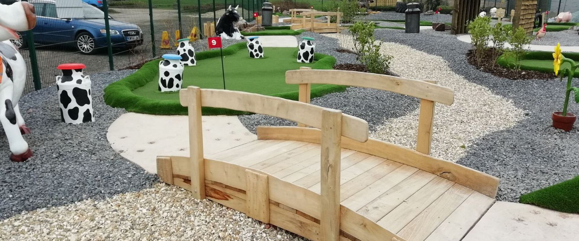 PPG - Bespoke Adventure Golf Courses